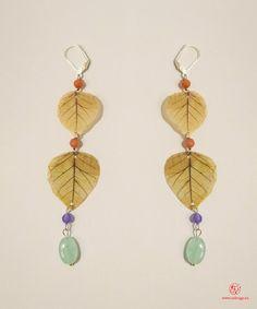 orecchini originali /earrings original - FLOWERS  - JU Jewels RIF 79