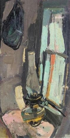 Joan Kathleen Harding Eardley (British artist) 1921 - 1963 Abstract City, Still Life Drawing, Glasgow School Of Art, New Artists, Figure Painting, Artist Art, Painting Inspiration, Art Gallery, Windows