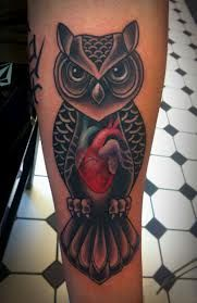 owl forearm tattoo - Google Search