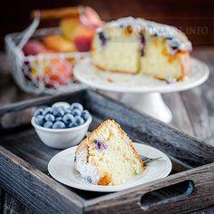 Ciasto jogurtowe z owocami