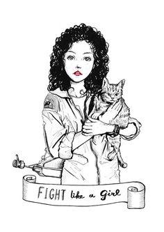 Inktober #20 Ellen Ripley
