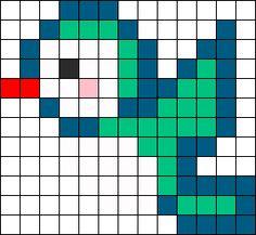 Little Bird Perler Bead Pattern / Bead Sprite