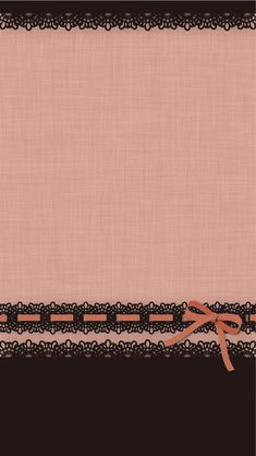 Bows pink brown wallpaper cocoppa