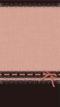 Bows pink brown wallpaper cocoppa