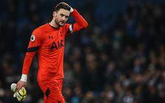 Descargar fondos de pantalla El Tottenham Hotspur, 4k, Hugo Lloris, el partido, el portero, los futbolistas, de la Liga Premier