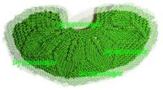 Olá amigas (os)!!   Para montar o casaquinho com a palinha de folhas, seguir as instruções abaixo:   Fazer mais 6 carr do pto escolhido.   ...