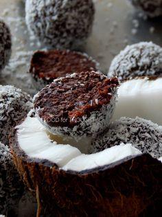 Vegan Chocolate Truffles, Raw Vegan, Coconut, Sweet, Desserts, Recipes, Food, Candy, Tailgate Desserts