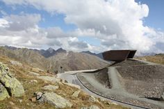the timmelsjoch experience by werner tscholl architects
