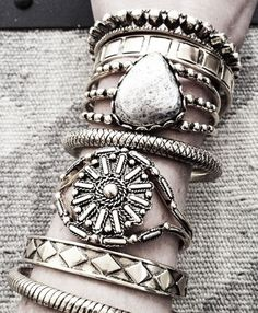 Silver accessory style