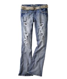 Wallflower Juniors' Fit and Flare Fashion Denim (in-stores only)