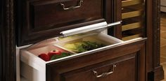 Under Counter Refrigerator Drawers | Sub-Zero & Wolf Appliances
