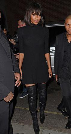 #black #style #chic #ciara