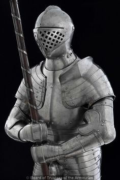 Foot combat armour of King Henry VIII
