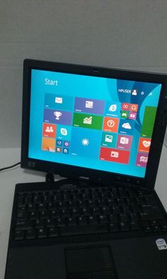 "HP Compaq TC4400 12.1"" (80 GB, Intel Core 2 Duo, 1.83 GHz, 1 GB, Win 8.1 ) #HP"