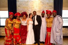 Kristin + Efosa's Multicultural Wedding with a Stunning Nigerian Traditional Ceremony