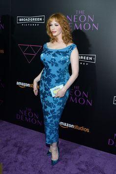 Christina Hendricks Photos - Premiere of Amazon's 'The Neon Demon' - Arrivals - Zimbio