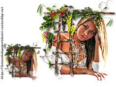 http://lemondedegaiaetthemis.centerblog.net Femme Automne PNG Dessin