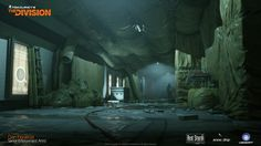 ArtStation - Dark Zone Subways, Dan Figueroa