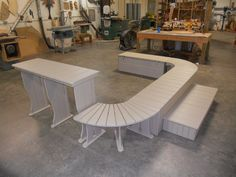 Hot Tub Surrounds, Table, Step, Bench. Made in the USA! West Fork, AR!