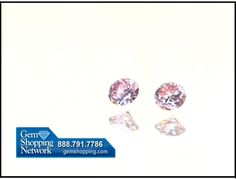 A matched pair of natural pink diamonds, GIA certified and signed Argyle brought to us by Mark for sale at Gem Shopping Network. #pinkdiamonds  #diamonds
