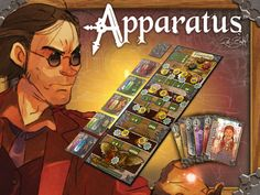 Apparatus: a Steampunk Board Game    I've supported this at the $30 level to get both the base game and the Kickstarter-exclusive expansion if it gets funded. You should too!
