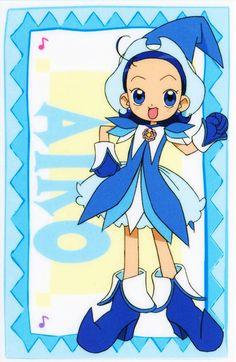 Tags: Anime, Witch, Ojamajo DoReMi, Senoo Aiko, Witch Hat, Blue Dress, Hair Down