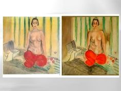 "Stolen Matisse Painting Reportedly Recovered After Almost a Decade. Which One is the Real ""Odalisque in Red Pants?"""