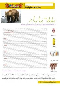 U Archives - Manute Pricepute Cursive Letters, Learning Letters, Worksheets For Kids, Stories For Kids, Bookmarks, Back To School, Alphabet, Teaching, Homeschooling