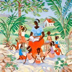Caribbean Art - Jani