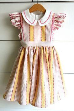 Aesthetic Nest: Sewing: Georgia Vintage Dress (Cottage Mama Pattern Tour)