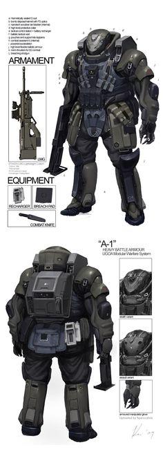 Space_Vagabonds Assaulter by Ukitakumuki