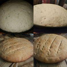 Pan de ajo y cebolla verde