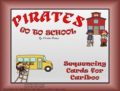 What would a day at school with a bunch of pirates be like? This is an imaginative book that will take you through a school day thats full of pirates! This product would pair nicely with any Pirates Go To School (by Corinne Demas) book companion. Included:15 sequencing pictures for Cariboo15 wh questions/> to use as cues for sequencingInstructions for playing the game The book Pirates Go To School is required for this product.