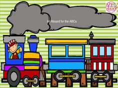 Use this train themed product to practice ABC order, missing, letters, and letter matching.  This is perfect for guided literacy or work stations. Other suggestions for use are included.  Color and black and white versions are included.  ABC Order (Upper and Lowercase)Missing Letters in ABC OrderUpper and Lowercase Letter Matching**I have no idea why the preview images will not download correctly.