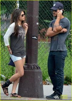 Celeb Diary: Taylor Lautner & Marie Avgeropoulos in New York