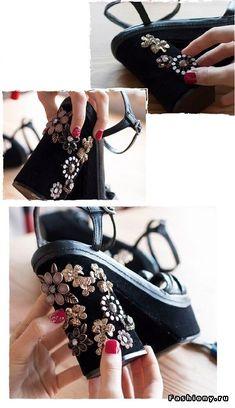 DIY идеи декора обуви