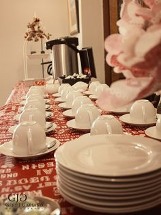 Kitchen Tea details at 2 Sisters. The tea and coffee table. #kitchentea #party #event #detail #photography #gertjgagiano