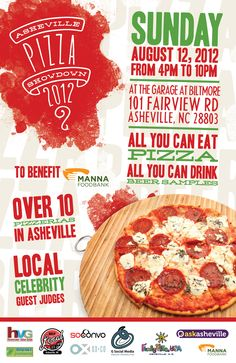 Please Share! .. Asheville Pizza Showdown 2012 #avleat #foodie #pizza #avl