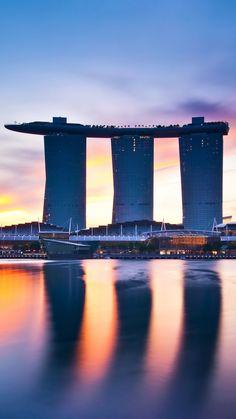 Hotel-Marina-Bay-Sands-Singapore-iPhone-Wallpaper - IPhone Wallpapers