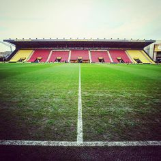 Vicarage Road is ready for #LFC's clash with Watford. #WeAreLiverpool
