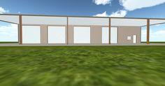 Dream 3D #steel #building #architecture via @themuellerinc http://ift.tt/1PSYo7S #virtual #construction #design