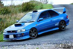 Subaru Impreza Type-R VersionVI Autolifers Patrick McCullagh Tuner Cars, Jdm Cars, Subaru Cars, Subaru Coupe, Subaru Impreza Wrc, Street Racing Cars, Auto Racing, Honda Civic Si, Mitsubishi Lancer Evolution