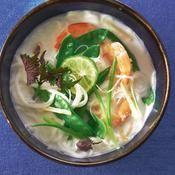 Soupe thaïe aux vermicelles - une recette Soupe - Cuisine