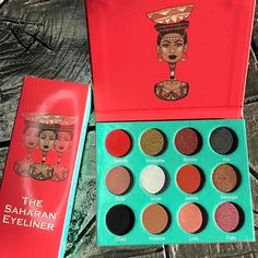Juvia's Place has quickly become one of Instagram's favorite indie beauty brands. The black-owned company, which was founded by West African Chichi Eburu, creates eye shadow palettes inspired by Africa.