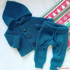 Knitting baby pants boys Best ideas – The Best Ideas Baby Pants Pattern, Crochet Baby Pants, Knitted Baby Clothes, Knit Pants, Crochet Jacket, Baby Knits, Jacket Pattern, Knitting For Kids, Baby Knitting Patterns
