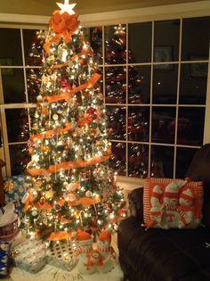Our 2013 TN Vols Christmas Tree