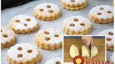 Krehké sušienky s kondenzovaným mliekom: Úplne jednoduché a za 10 minút upečené – kto pozná tento recept, nič iné už nehľadá! Doughnut, Muffin, Cookies, Breakfast, Desserts, Basket, Biscuits, Morning Coffee, Muffins