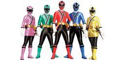 Montando minha festa: Power Rangers Samurai