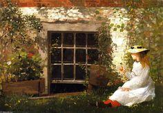 Winslow Homer - The Four-Leaf Clover