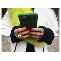 @aureta with her green Crocodile Jade case at #artberlincontemporary #tcf #thecasefactory #berlin #case #leather